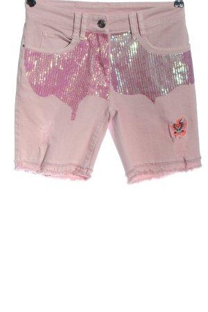 Sportalm Pantaloncino di jeans rosa stile casual