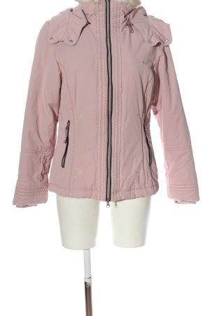 Sportalm Kapuzenjacke pink-schwarz Casual-Look