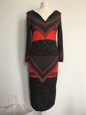 Sportalm Midi Dress multicolored viscose