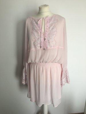 Sportalm Longsleeve Dress pink polyester