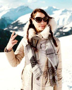 sportalm kitzbühel skijacke winterjacke frozen eyed rockstudd glossy champagne daunenjacke