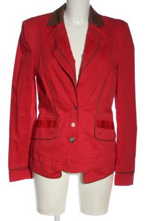 Sportalm Blazer corto rosso stile professionale