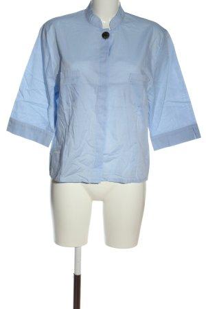 Sportalm Kurzarm-Bluse blau Elegant