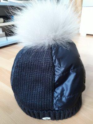 Sportalm Cappello in pelliccia blu