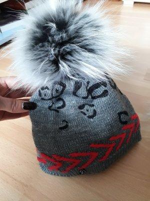 Sportalm Cappello in pelliccia argento