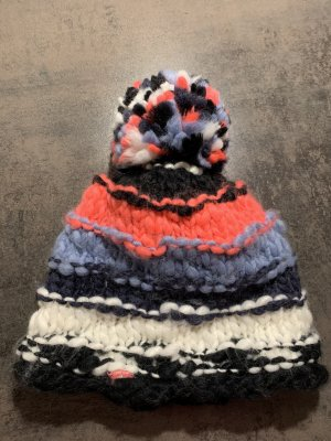 Sportalm Knitted Hat multicolored wool
