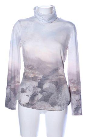 Sportalm Camisa de cuello de tortuga estampado temático estilo «business»