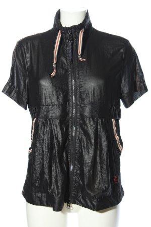Sportalm Giacca-camicia nero stile casual