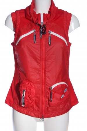 Sportalm Sports Vests red-white themed print casual look