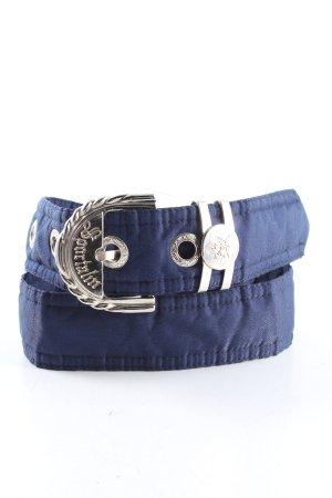 Sportalm Fabric Belt blue casual look