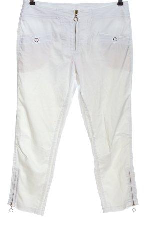 Sportalm Pantalone jersey bianco stile casual
