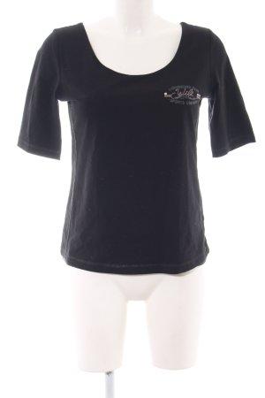 Sportalm T-Shirt schwarz Casual-Look