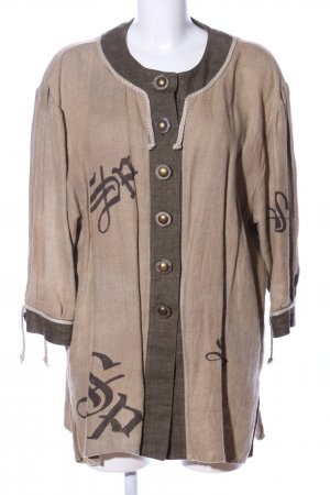 Sportalm Traditional Jacket brown printed lettering casual look