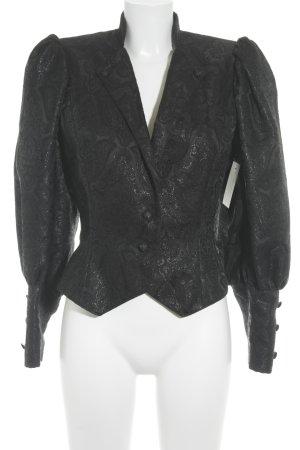 Sportalm Trachtenjacke schwarz abstraktes Muster extravaganter Stil