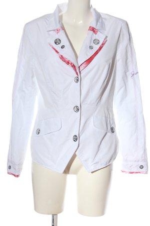 Sportalm Blazer corto bianco stile casual