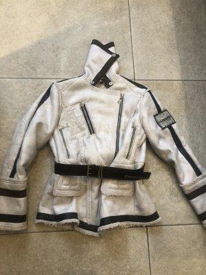 Sportalm Fur Jacket natural white