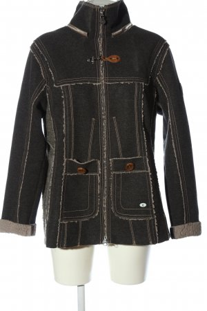 Sportalm Giacca di lana grigio chiaro stile casual