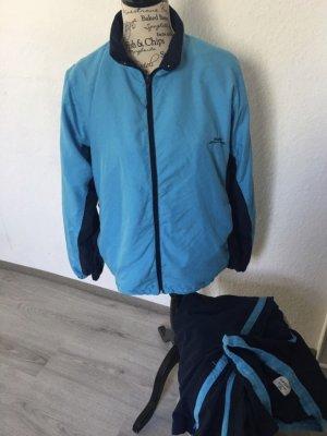Toptex Sportjack neon blauw