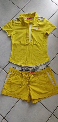 Puma Sportshirt geel