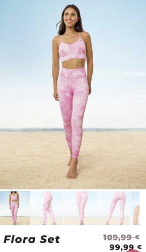 oceans apart Pantalon de sport rose-rose