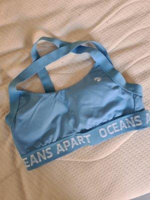 oceans apart Sports Shirt light blue