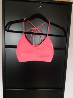 Bustier Top neon pink