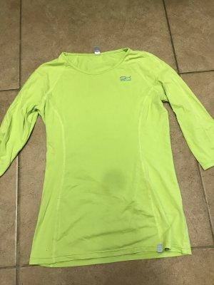 Maglietta sport verde prato