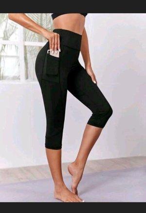 Sheinside Pantalone da ginnastica nero