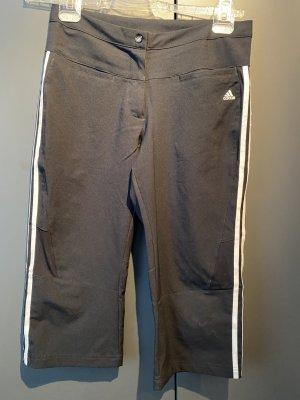 Adidas 3/4 Length Trousers black polyvinyl chloride
