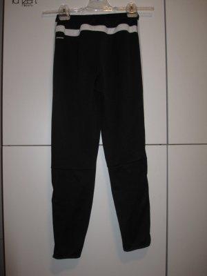 Adidas Pantalon de sport noir-blanc polyester