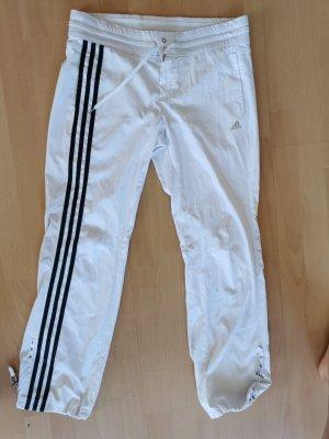 Sporthose Adidas weiß