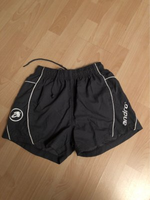 Andro Pantalon de sport gris-blanc