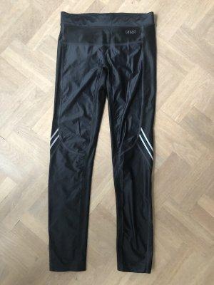Casall Pantalone da ginnastica nero-grigio Poliammide