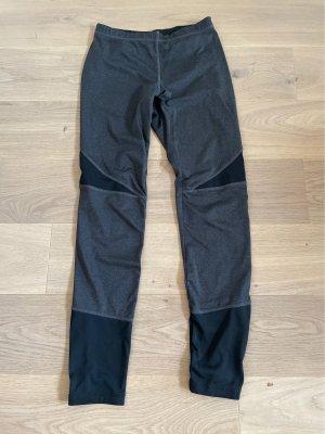 Crivit Pantalone da ginnastica grigio scuro-nero
