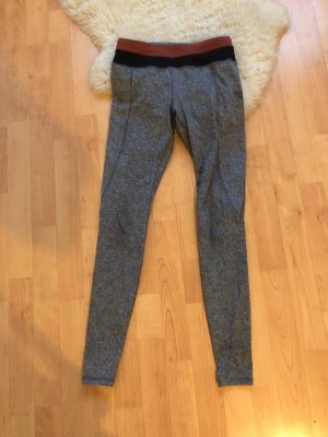 Forever 21 Trackies silver-colored-black