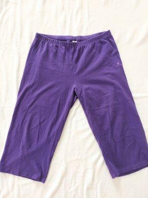 Sporthose Fitnesshose Caprihose Domyos Violett Gr. XL