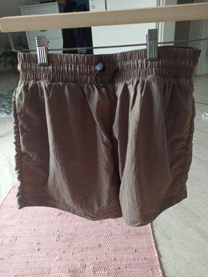 H&M Sport Short de sport gris brun-brun
