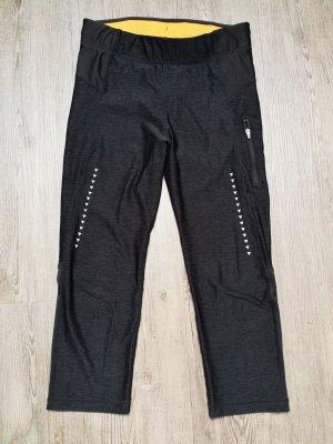 Sporthose H&M S 3/4 Leggings anthrazit grau Orange