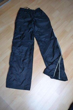 Xanaka Pantalone da ginnastica nero-bianco