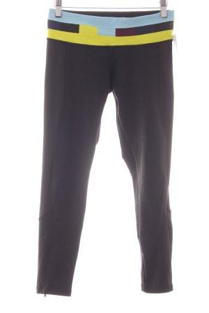 Pantalone da ginnastica multicolore stile atletico