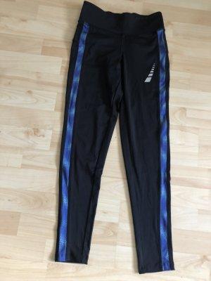 Crivit Pantalone da ginnastica nero-blu