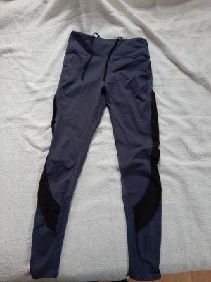 H&M Pantalone da ginnastica grigio ardesia
