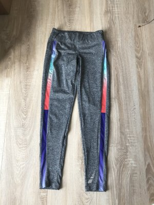 Crivit Pantalone da ginnastica multicolore