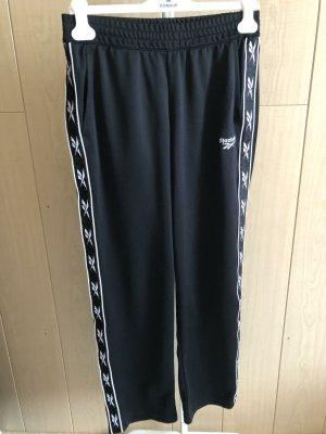 Reebok Pantalon de sport noir polyester