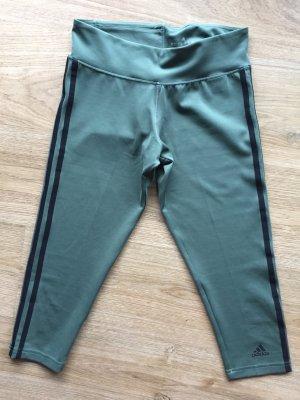 Adidas Sportbroek khaki-zwart Polyester