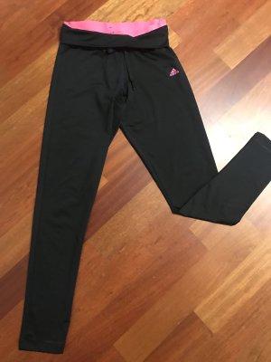 Adidas Pantalon de sport noir-rose