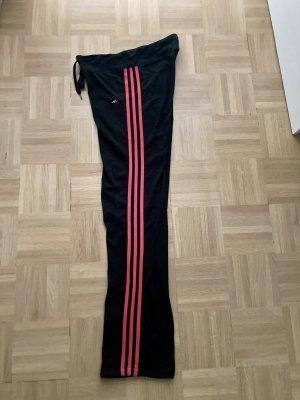 Adidas Pantalone da ginnastica nero-magenta