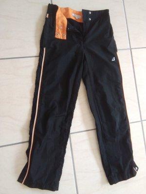 Authentic Trackies black-neon orange