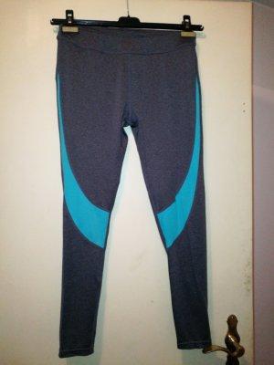 Even & Odd Pantalone da ginnastica grigio-blu cadetto