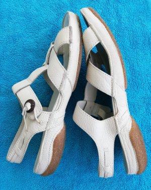 Clarks Comfortabele sandalen wolwit